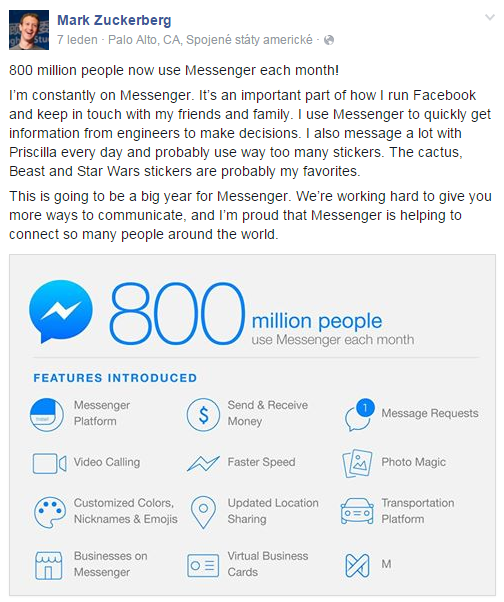 mark zuckerberg_facebook_messenger_business success