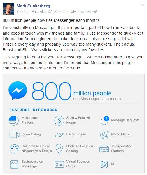 mark zuckerberg_facebook_messenger_business success